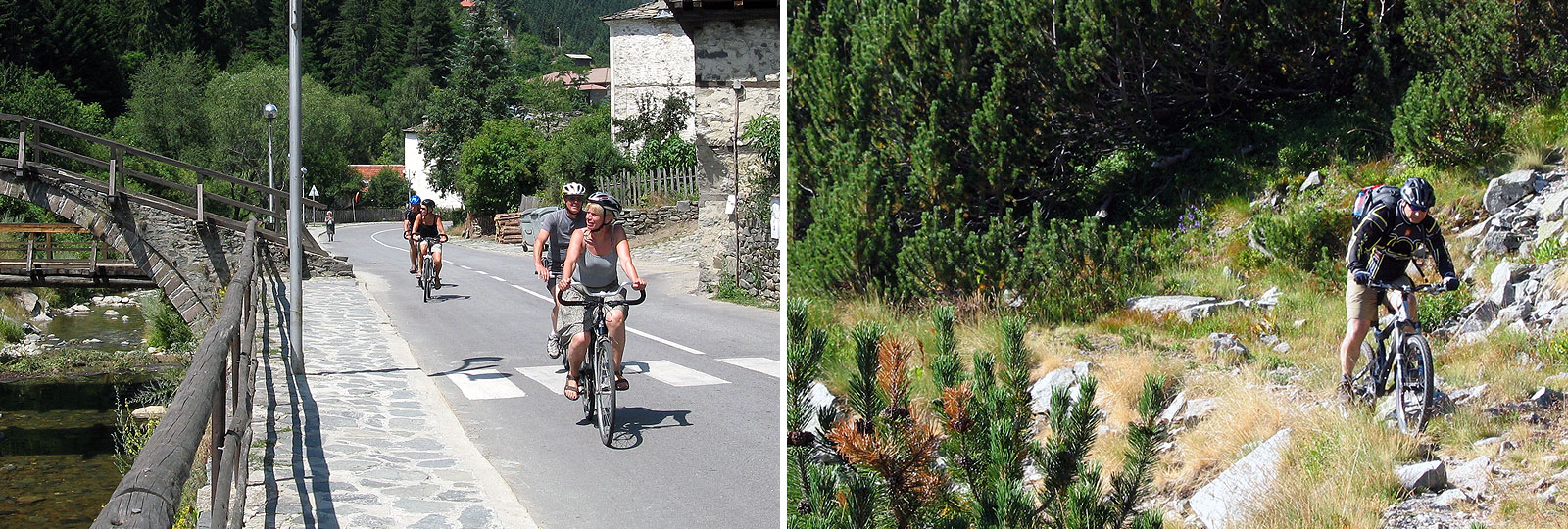 Road cycling and Mountain bike tours in Bulgaria